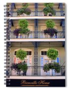 Beautiful Hotel In New Orleans Spiral Notebook