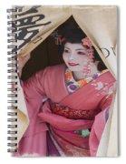 Beautiful Japanese Woman Spiral Notebook