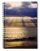 Beautiful Moment Spiral Notebook