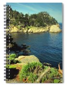 Beautiful Monterey Bay From Point Lobos Spiral Notebook