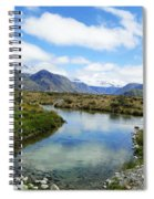Beautiful New Zealand Spiral Notebook