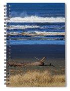 Beautiful Ocean Shores Spiral Notebook