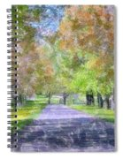 Beautiful Pathway Spiral Notebook