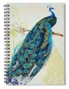 Beautiful Peacock-a Spiral Notebook