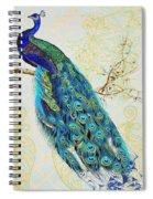 Beautiful Peacock-b Spiral Notebook