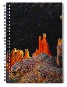 Beautiful Pinnacles At Bryce Canyon Spiral Notebook