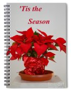 Beautiful Poinsettia Plant - No 2 Spiral Notebook