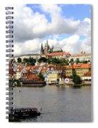 Beautiful Prague Spiral Notebook