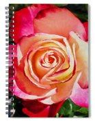Beautiful Red Rose Spiral Notebook