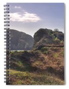 Beautiful  Sark One Of The  Channel Islands Spiral Notebook