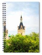 Beautiful Schwerin Castle Spiral Notebook