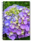 Beautiful Shades Of Indigo Spiral Notebook