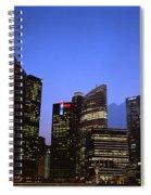Beautiful Singapore Spiral Notebook