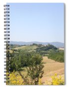 Beautiful Spot - Crete Senesi Spiral Notebook