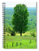 Beautiful Pennsylvania Summer Scene - Colorful Landscape - Painting Like Spiral Notebook