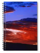 Beautiful Sunrise In Boise Spiral Notebook