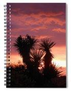Beautiful Sunset In Arizona Spiral Notebook