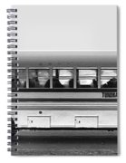 Beautiful Tour Bus At Barrow Spiral Notebook