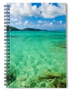 Beautiful Turquoise Water Spiral Notebook