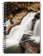 Beautiful Waterfall In Western Ghats Karnataka India Spiral Notebook