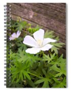 Beautiful Wild Geranium Spiral Notebook