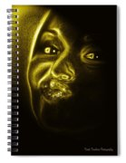 Beautiful Woman Spiral Notebook