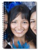 Beautiful Women Of Brazil 10 Spiral Notebook