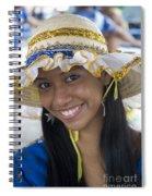 Beautiful Women Of Brazil 11 Spiral Notebook