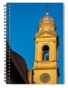 Beautiful Yellow Church Steeple Spiral Notebook