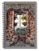 Beauty After Destruction Window Art Prints Spiral Notebook