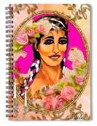 Beauty And Flowers 1 Spiral Notebook