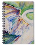 Beauty And Grace Swan Spiral Notebook