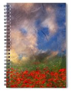 Beauty And The Beast Of Nature Spiral Notebook