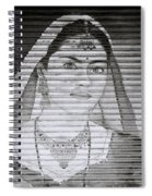 A Beautiful Woman Spiral Notebook