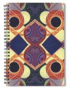 Beauty In Symmetry 1 - The Joy Of Design X X Arrangement Spiral Notebook