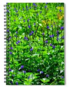 Beauty In The Meadow Spiral Notebook