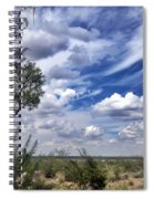 Beauty In The Sky Spiral Notebook