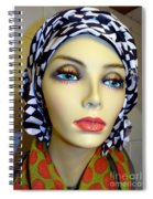 Beauty In Turban Spiral Notebook