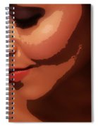 Beauty - Ladies - Poster Spiral Notebook