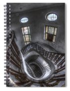 Beauty Looking Down Spiral Notebook