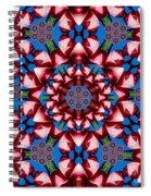Beauty Of Aruba Kaleidoscope Spiral Notebook