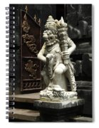 Beauty Of Bali Indonesia Statues 1 Spiral Notebook