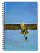 Beauty Of Flight Textured Spiral Notebook