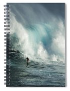 Beauty Of Surfing Jaws Maui 7 Spiral Notebook