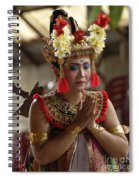 Beauty Of The Barong Dance 1 Spiral Notebook