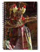 Beauty Of The Barong Dance 2 Spiral Notebook