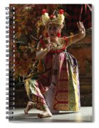 Beauty Of The Barong Dance 3 Spiral Notebook