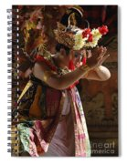 Beauty Of The Barong Dance 4 Spiral Notebook