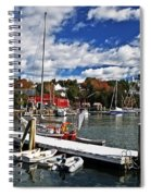 Beauty Of The Harbor Spiral Notebook