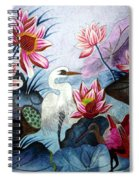 Beauty Of The Lake Hand Embroidery Spiral Notebook